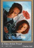 x-files artist proof 4 by charles-hall