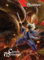 Susanoo Base Card Art - BARD! by Pernastudios