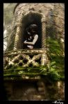 Lovers from the Tower by darkcyny