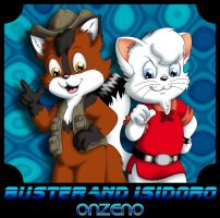 Buster and Isidoro by Onzeno