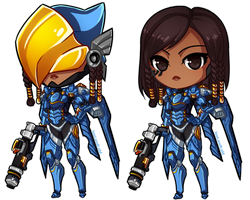 Pharah || Overwatch by LostAdopt