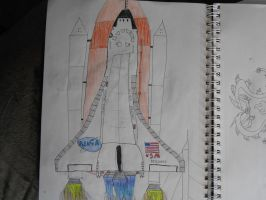 Space Shuttle Discovery by Spyroconvexity