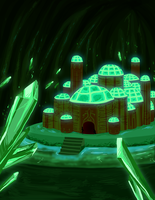 Tengoku: Temple of Gaia by hyperionwitch