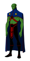DC New 52:Martian Manhunter Animated by kyomusha