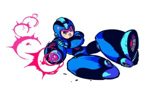 Mega Man by mooncalfe