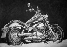 Honda Shadow by Akchilug