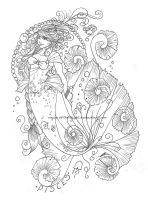 . : Pisces - Lines by Rogue-Of-The-Night