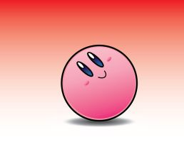 Kirby Vector: Ball Kirby - Ball Form by DPghoastmaniac2