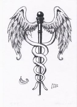 Caduceus by PsychoJailBird