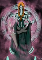Study - Queen Midna -True Form by UndyingNephalim