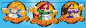 Brickhouse Beer T-shirt Logo by ShoNuff44