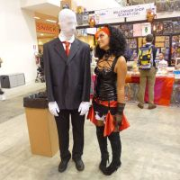 Me and Slenderman.. by Shira-inochi