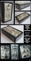 Master Chief in Carbonite by shadow-of-insanity