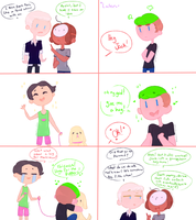 Septiplier and pewdiecry comic: I have an Idea by ChloesImagination