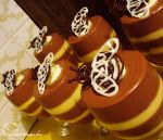 Bumble Bee Mousse by cakecrumbs