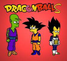 dragon ball simpson by Mr-PiaPia