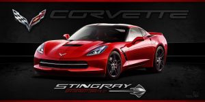 2014 Corvette C7 Stingray by mpfdesign