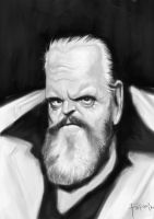 Orson Welles 2 by Parpa