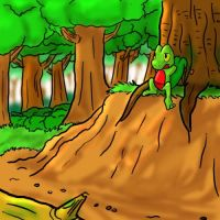 Forest treecko by ham77770011