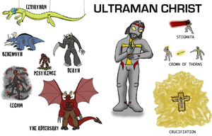 Ultraman Christ by OperaGhost21
