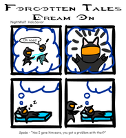 Forgotten Tales 3: Dream On by spade0013
