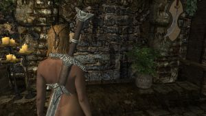 Nude Bosmer: Natural Curiosity by Althewarlord
