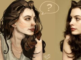 Anne Hathaway by KimNipp