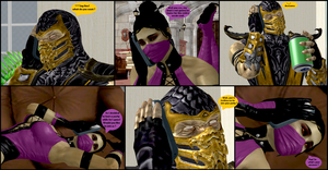 Mileena's Party part 2 by Texmoder