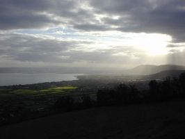 View over Belfast Lough by jfleck