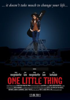 One Little Thing Movie Poster by peetz5050