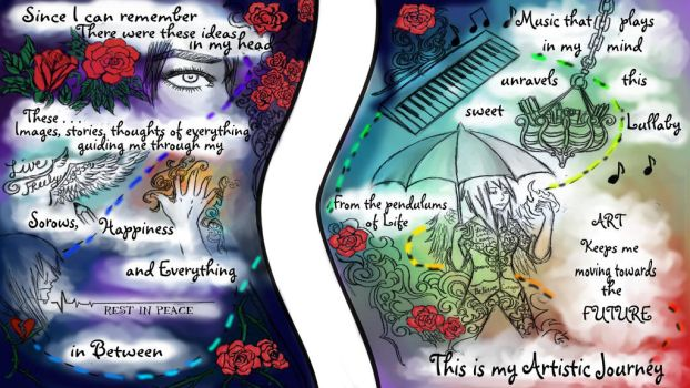 My Artistic Journey by MaliciousNature