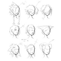 Hair Styles Vol 2 by ron-guyatt