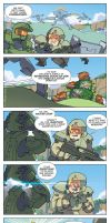 Halo: Finish the Snacks by DejitaruDavis