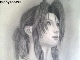 Aerith In Crisis Core by Pinoyshot95