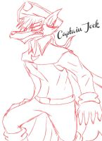 Captain Jock sketch by 200shadowfan