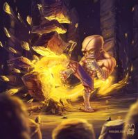 Sagat ( go to link ) by krolone