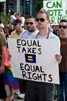 Equal Taxes - Equal Rights by digitalgrace