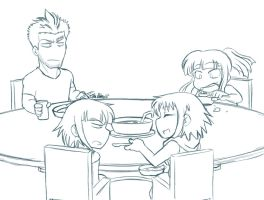 Anti-Table Manners by Lancochang
