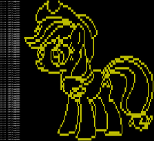 ASCII AppleJack BLOCK by FLYingG0D