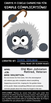 Old Man Johnston for SimpleComics by Danlei