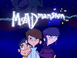 Mad Mansion Game Title Screen by R3dF0x