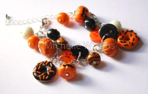 Halloween bracelet by DragonsDust