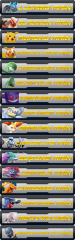 Pokken Main banners by Ch40sKnight