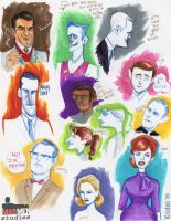 Mad Men Studies by shmisten
