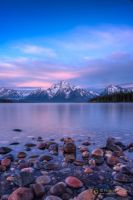 Dawn at Colter Bay by pesterle