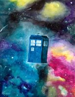 Tardis Dreams by EclecticKatie