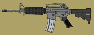 Colt M4A1 clr by CzechBiohazard
