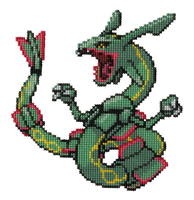 384 - Rayquaza by Devi-Tiger