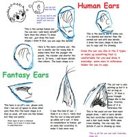 How to draw manga EARS by FaithTale