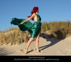 Green Silk 15 by faestock